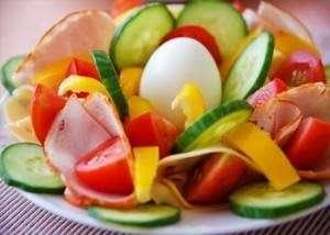 Healthy Salad for diabetic people